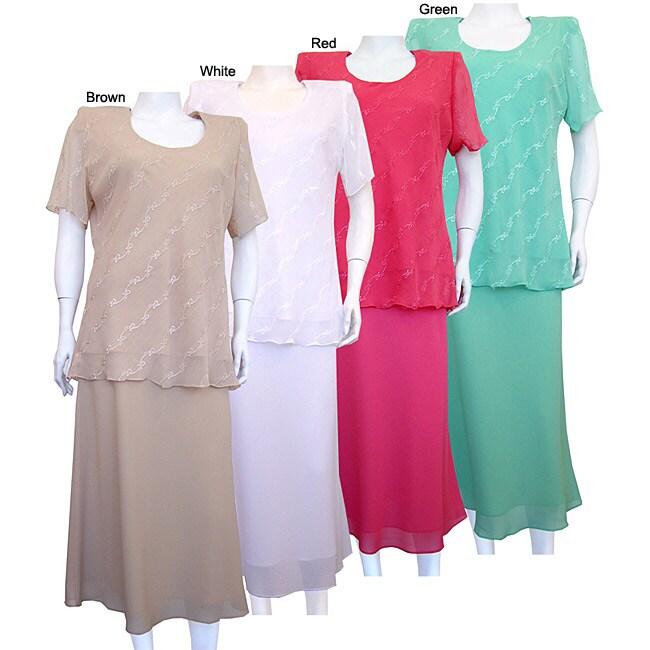 Mix Studio Women's 2-piece Skirt Set