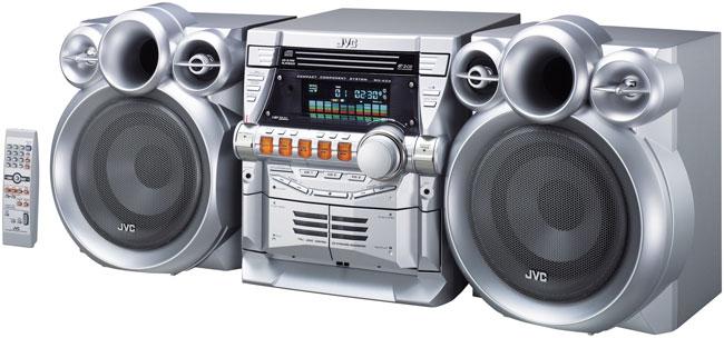 Jvc Mx Kc4 3 Disc Cd And Cassette 360 Watt Component