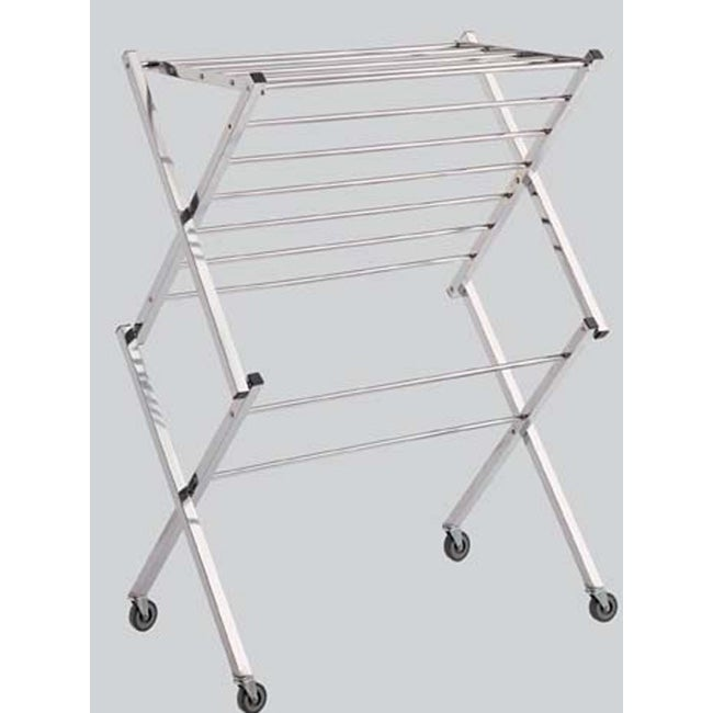 Rolling Laundry Drying Rack