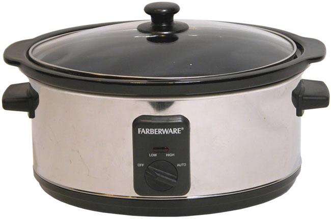 Farberware FSC400 4-quart Oval Slow Cooker (Refurbished) - 1137429 ...