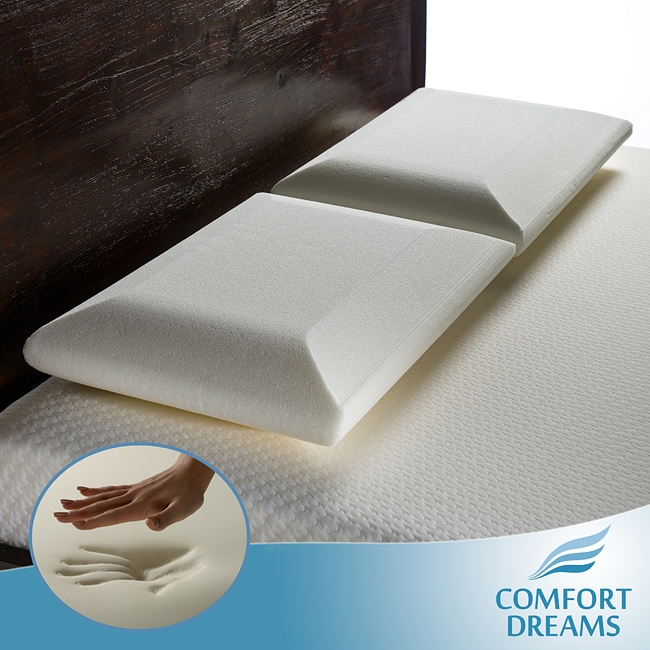 Comfort Dreams Crowned Standard-size Memory Foam Pillows (Set of 2)