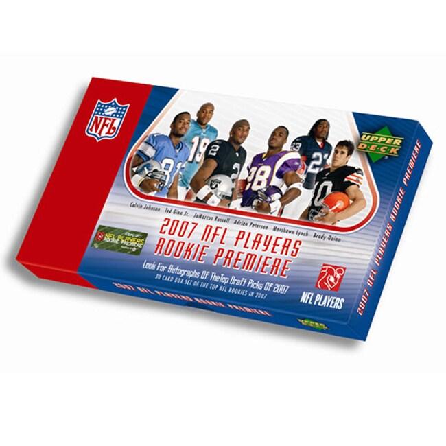 2007 Upper Deck NFL Rookie Premiere Box Set