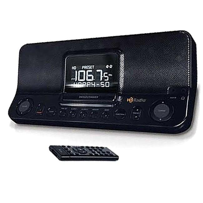 E16 I168 Desktop Hd Am Fm Dual Alarm Clock Radio