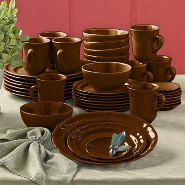 Todd English Tuscan 40-piece Dinnerware Set