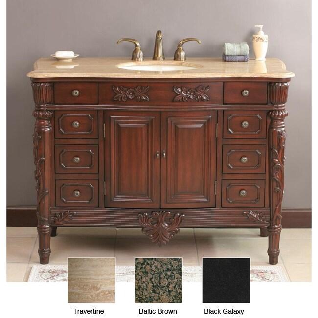Solomon 48-inch Single Sink Bathroom Vanity