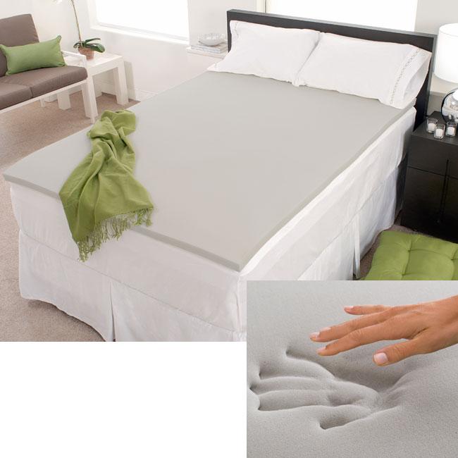Firm Choice 2-inch Memory Foam Mattress Topper