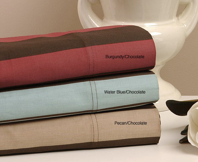 Regency 310 Thread Count Stripe Print Pillowcases