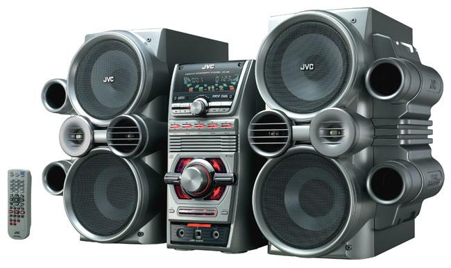 jvc hx c6 5 disc 500 watt cd mini system with usb link. Black Bedroom Furniture Sets. Home Design Ideas