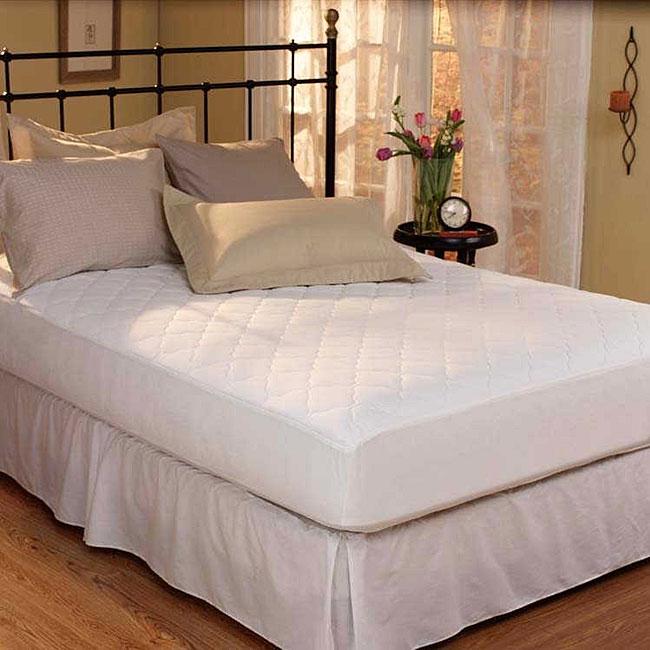 dorm size twin extra long max guard waterproof mattress pad 11394754 shopping. Black Bedroom Furniture Sets. Home Design Ideas