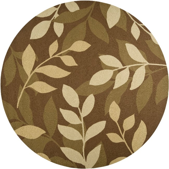 Tropic Collection Outdoor/ Indoor Area Rug (8' Round)