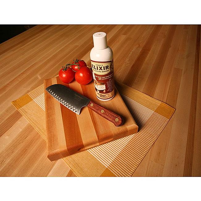 Maple Cutting Board/ Knife/ Elixir Set