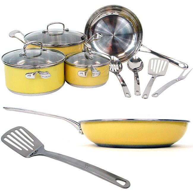 Roy Yamaguchi Fusion 11-piece Cookware Set