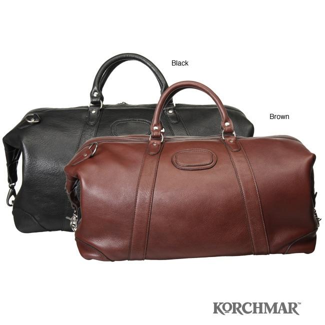 Korchmar Leather Duffle Bag