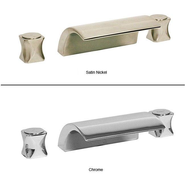 Elfa Bathtub 3-piece Waterfall Faucet Set