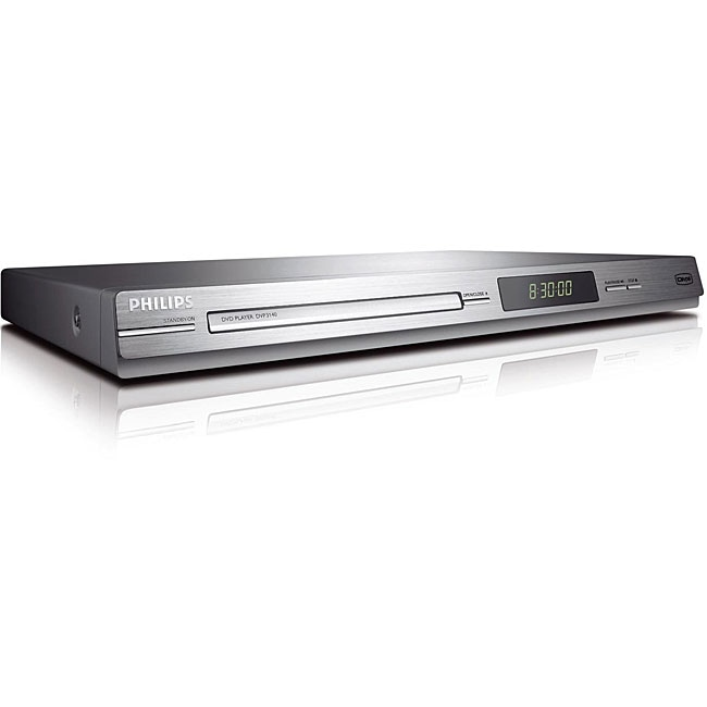 Philips DVP3140- Multi Region Free DVD Player (Refurbished)