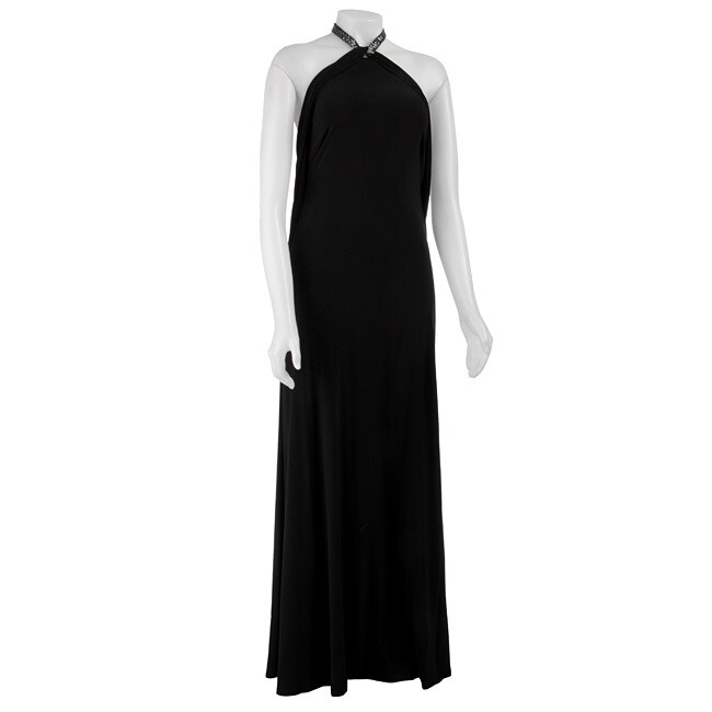 ABS by Allen Schwartz Women's Draped Halter Dress
