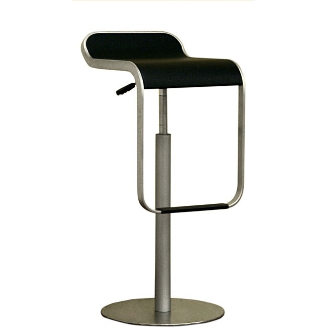 Rafe Adjustable Curved Barstool (Set of 2)