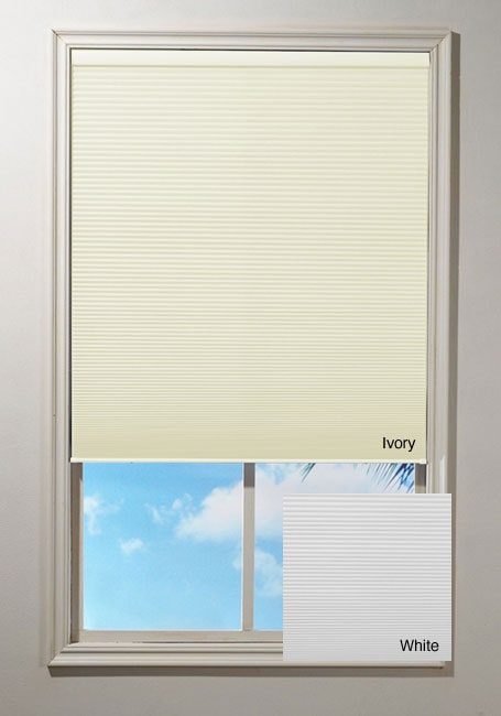 Cordless Honeycomb Cellular Window Shade (21 in. x 64 in.)