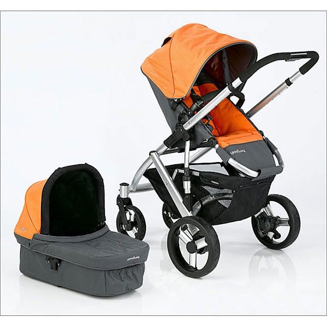 Uppababy Vista Stroller System In Alex Orange 11446727