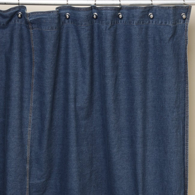 Tommy Hilfiger Denim Shower Curtain 11450576 Overstock