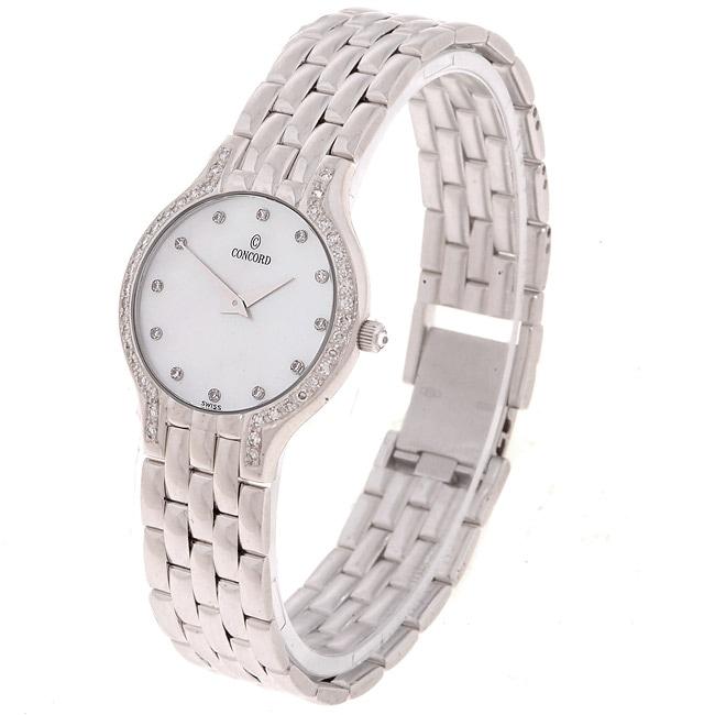 Concord Les Palais Women's 14k Gold Diamond Watch