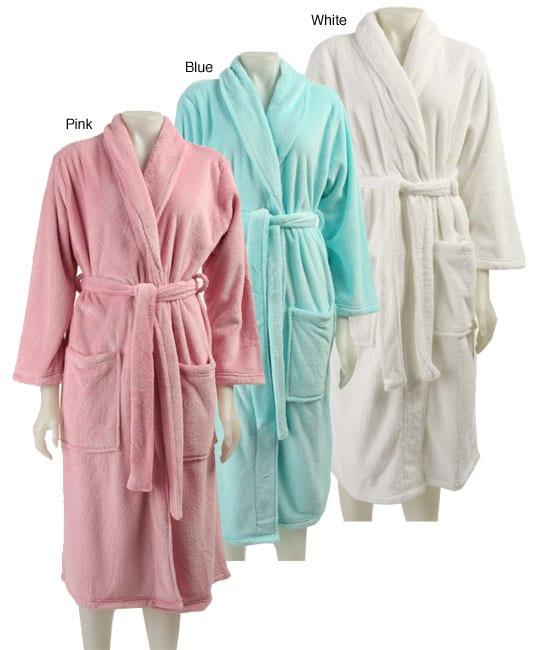 Dream Lover Women's Shawl Collar Long Wrap Robe