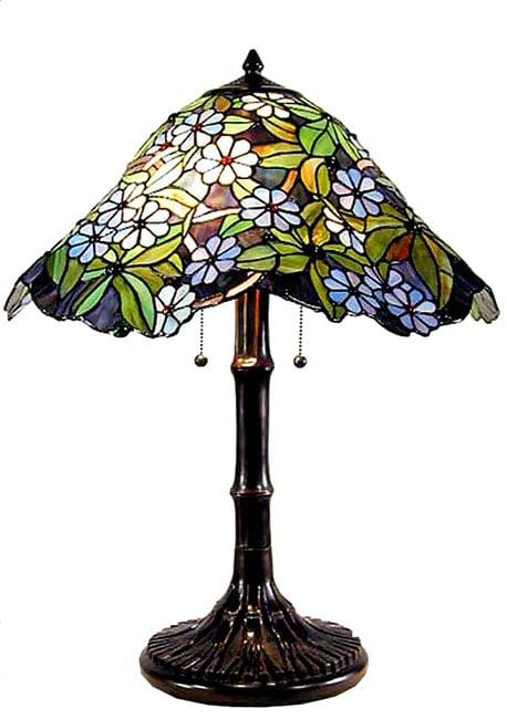 Tiffany-style Daisy Table Lamp