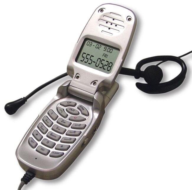 Innovage Deluxe Handheld Mini Flip Phone