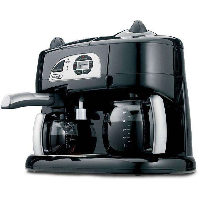 DeLonghi BCO130T Combination Coffee/ Espresso Machine