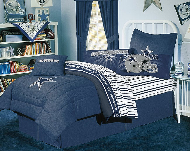 nfl dallas cowboys comforter set full 1147581