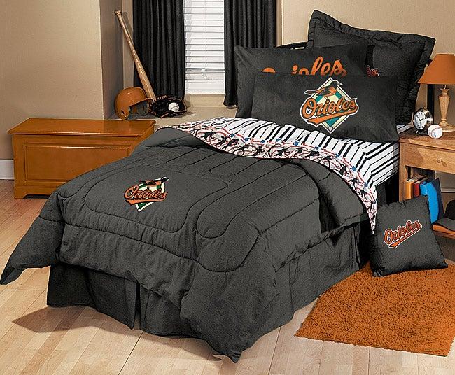 Baltimore Orioles Queen Bedding