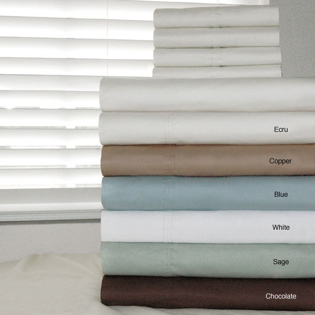 Egyptian Cotton 500 Thread Count 6-piece Sheet Set