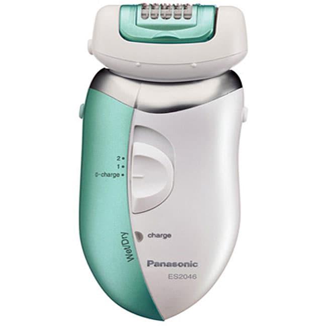 Panasonic ES2046G Women's Wet/ Dry Three-head Epilator