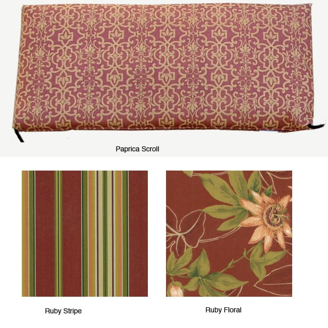 Outdoor Loveseat/ Bench Cushion