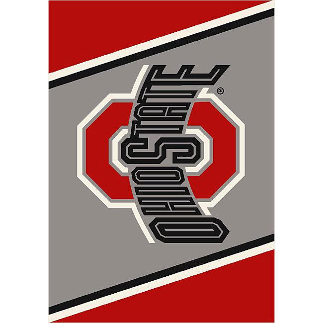 Ohio State University Grey Area Rug (28 x 310)