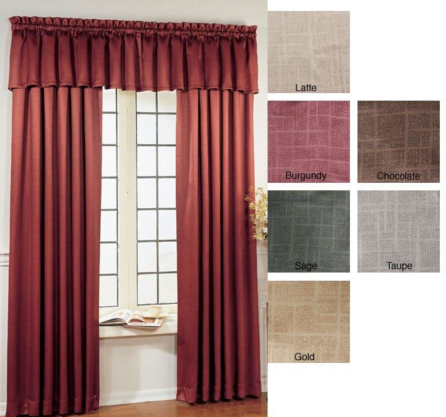 Blackout Rod Pocket 84-inch Panel Curtains