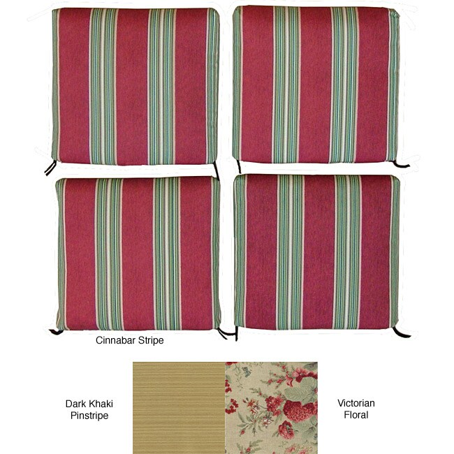 Outdoor Chair Cushions (Set of 4)