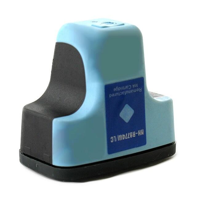 HP 02 Light Cyan Ink Cartridge (Remanufactured)