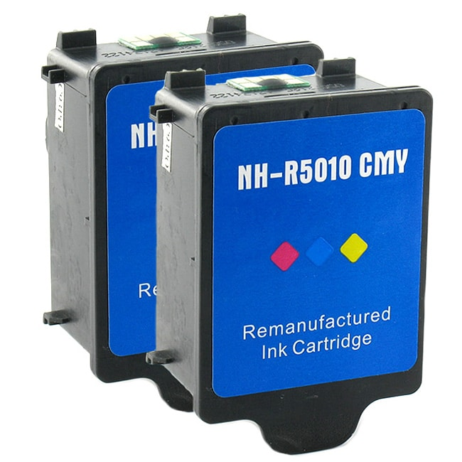 HP 14 2-piece Color Ink Cartridge Combo (Remanufactured)