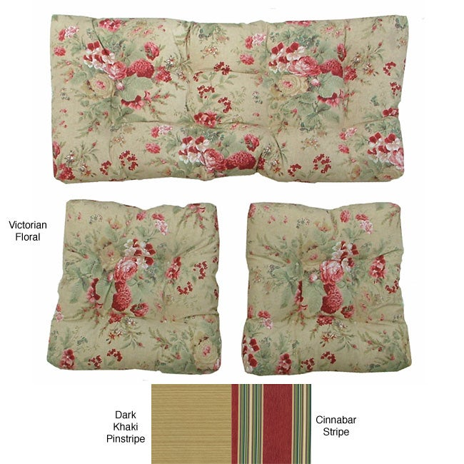 Outdoor 3-piece Cushion Set