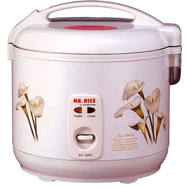 Retractable Cord 10-cup Rice Cooker