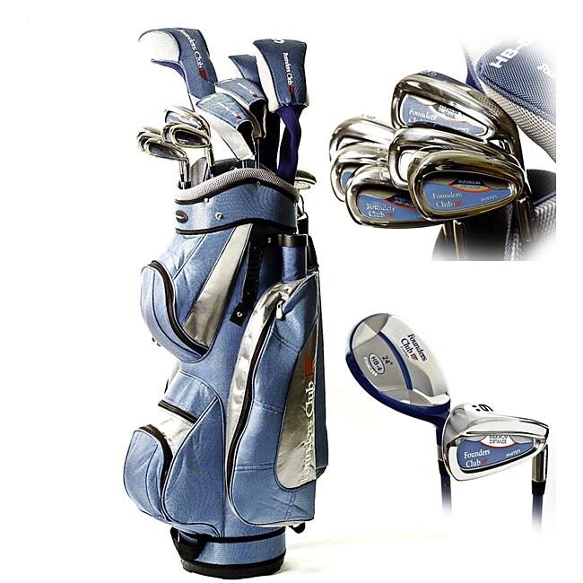 Founders Club Ladies 18 Piece Golf Club Set Overstock