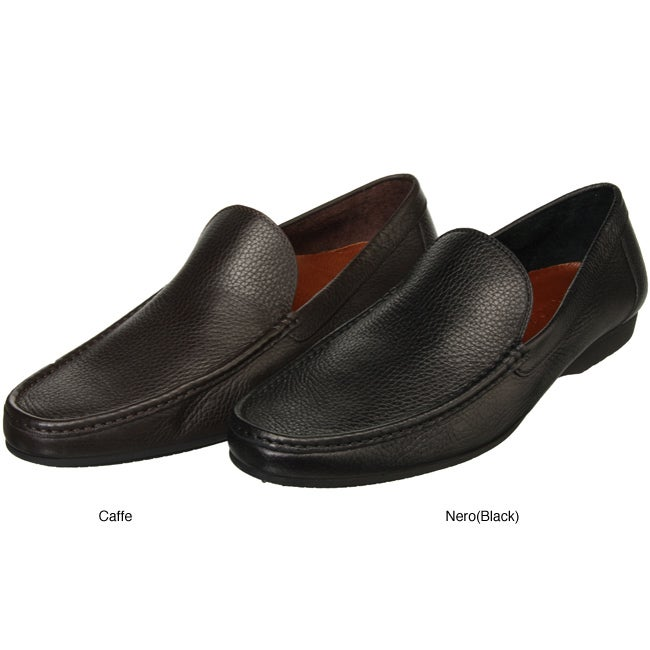 A Testoni Men's Clean-front Loafers