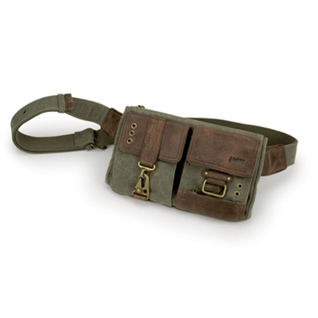 Roots Tribe Leather Waist Pouch