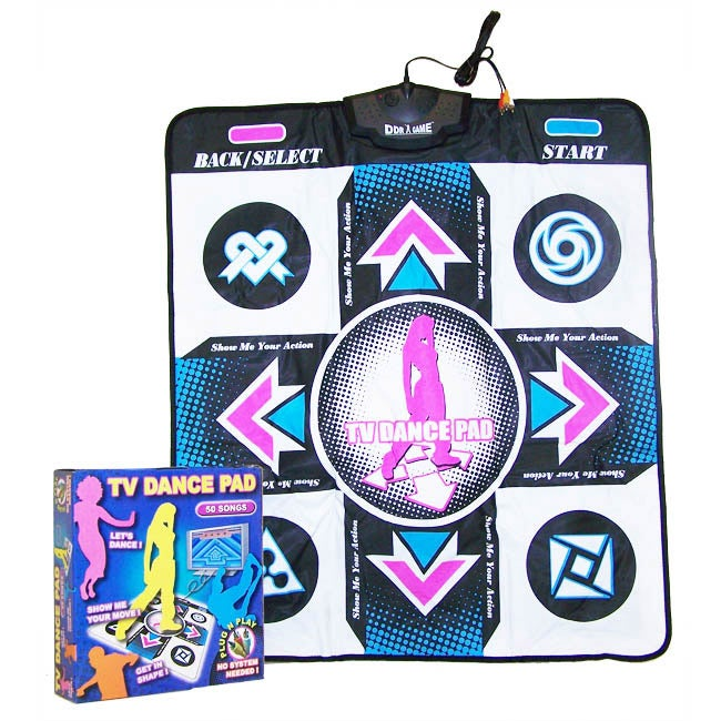 15-song TV Dance Pad Game Set