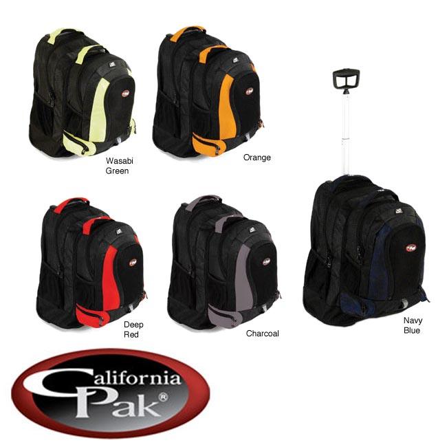 CalPak Diplomat 21 inch Rolling Backpack
