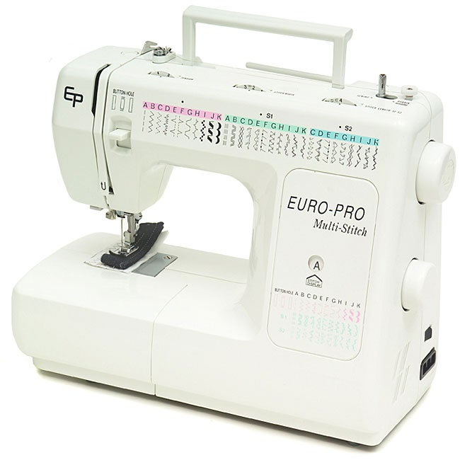 Euro pro multi stitch sewing machine overstock shopping for Euro pro craft n sew