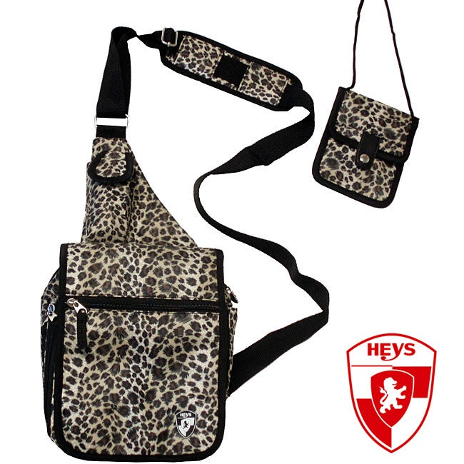 Heys USA Exotic Leopard TravelMate Sling Bag