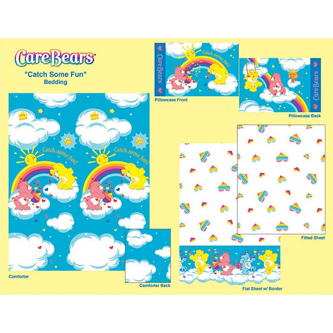 Care Bears 'Catch Some Fun' Comforter and Sheet Set