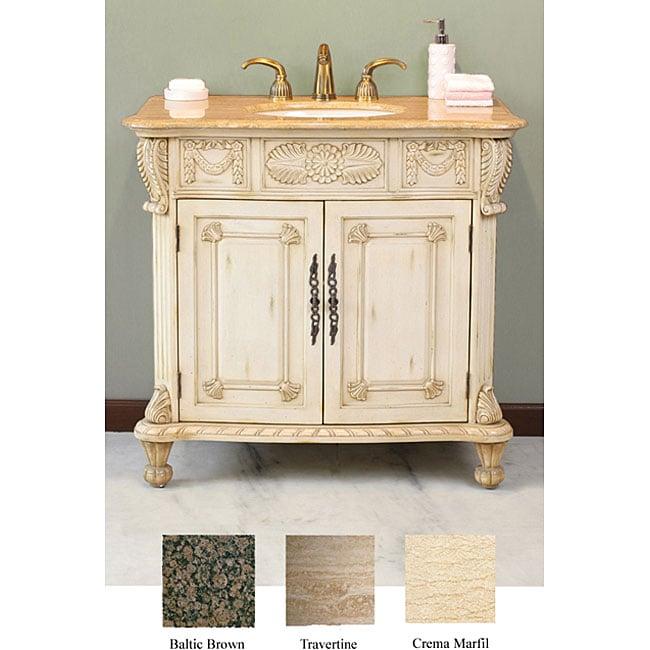 Cassara 38-inch Single Sink Bathroom Vanity